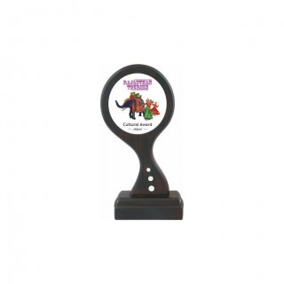 "Personalized Rajasthan Tourism Printing Size Trophy (3"" Dia)"