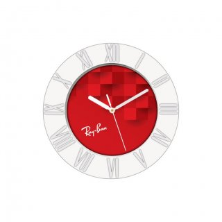 "Personalized Ray-Ban Wall Clock (7"" Dia)"