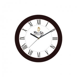 "Personalized Reid & Taylor Wall Clock (9.5"" Dia)"