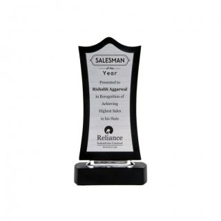 "Personalized Reliance Engraving Area Trophy (6""X2"")"
