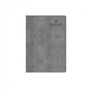 Personalized Rolex A5 Notebook (Grey Color)