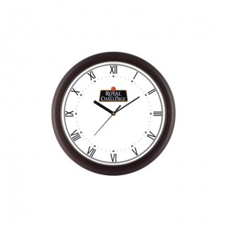 "Personalized Royal Challenge Ecoline Wall Clock (8"" Dia)"