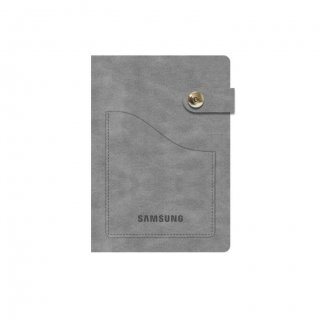 Personalized Samsung A5 Notebook (Grey Color)