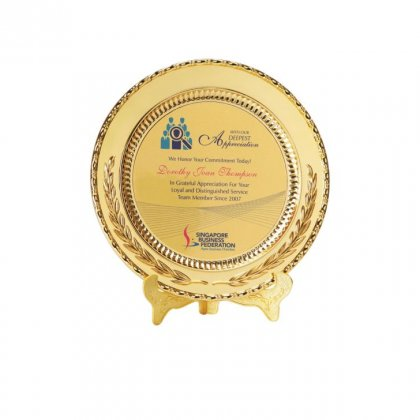 Personalized Singapore Business Federation Memento
