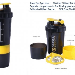 Personalized Spider Gym Shaker (600 Ml)