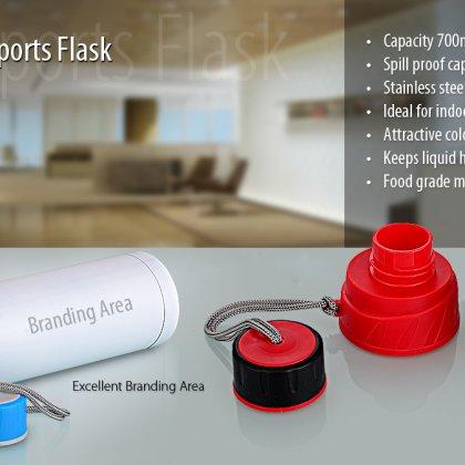 Personalized Sports Flask (750 Ml)