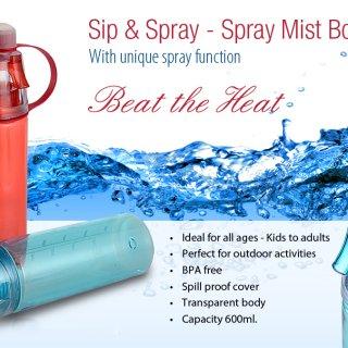 Personalized Spray Mist Bottle (600 Ml)