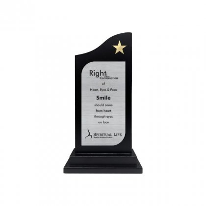 """Personalized Spritual Life Engraving Area Trophy (2.75""""X5"""")"""