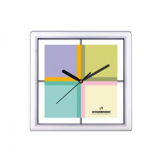 "Personalized Starwood Wall Clock (9""X9"")"
