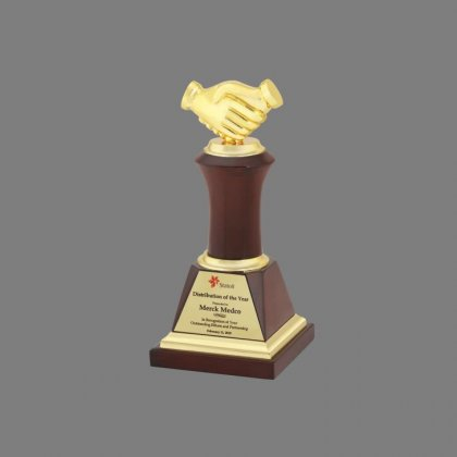Personalized Stateoil Award Trophy