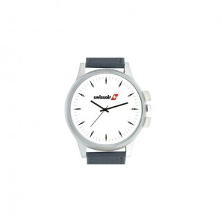 Personalized Swissair Matte Finish Box Wrist Watch