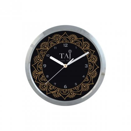 "Personalized Taj Wall Clock (9"" Dia)"
