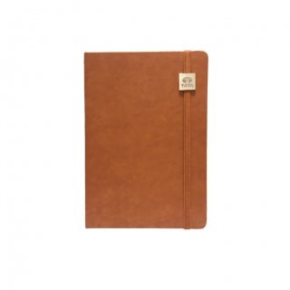 Personalized Tata A5 Notebook (Tan Color)