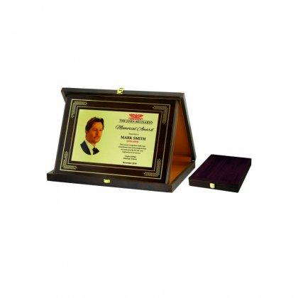 Personalized The John Belisario Award Memento