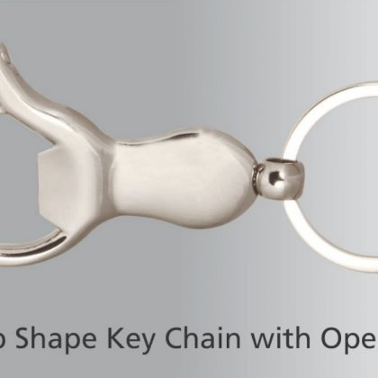 Personalized thumb up key ring with opener