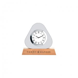 """Personalized Tommy Hilfiger Engraving Area Table Clock (0.75""""X1.75"""")"""