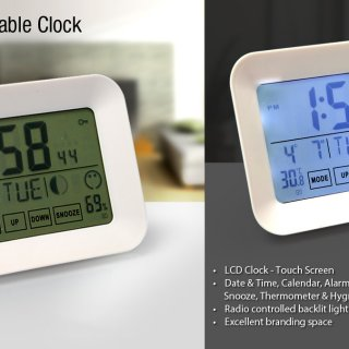 Personalized Touch Screen Clock