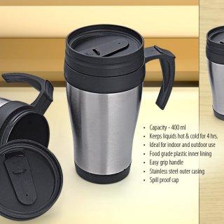 Personalized Travel Mug- Steel Mug (400 Ml)