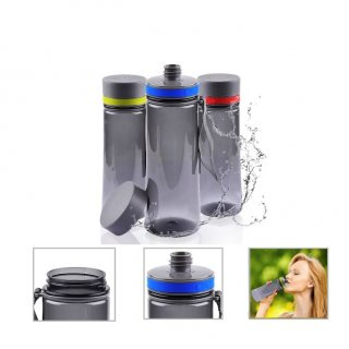 Personalized Tritan Sports Bottle - 800Ml (Bpa Free) (J O T T E R S - Trans) / Blue/Gray Red/Gray Green/Gray