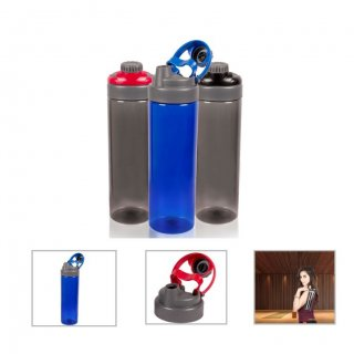 Personalized Tritan Sports Bottle (945Ml) (A Q U A - Flipper) / Red, Blue, Black