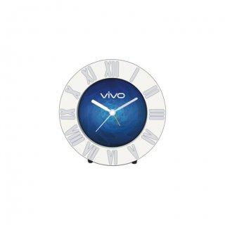 """Personalized Vivo Table Clock (3.25"""" Dia)"""