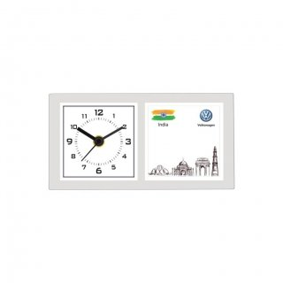 """Personalized Volkswagen Printing Size Table Clock (2.5""""X2.5"""")"""