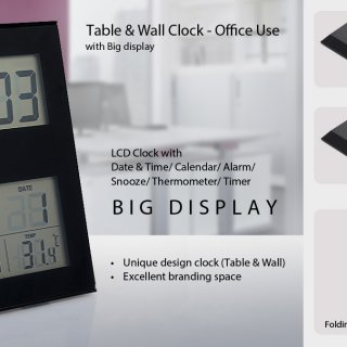 Personalized Wall Cum Table Clock