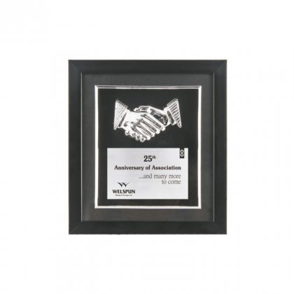 "Personalized Welspun Engraving Area Memento (2.75""X4.5"")"