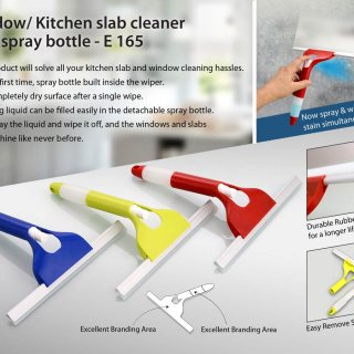 Personalized window/ kitchen slab cleaner with spray bottle