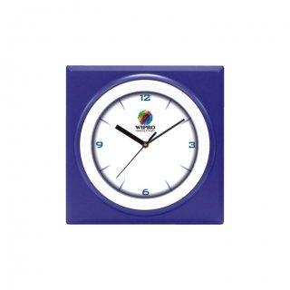 "Personalized Wipro Ecoline Wall Clock (6"" Dia)"