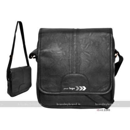 Personalized Black Sling Bag