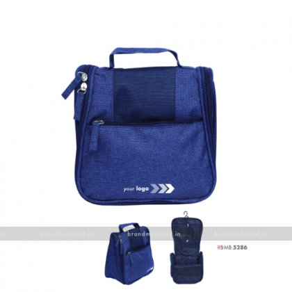 Personalized Blue Travel Bags