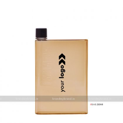 Personalized A5 Memo Bottle Brown 420ml