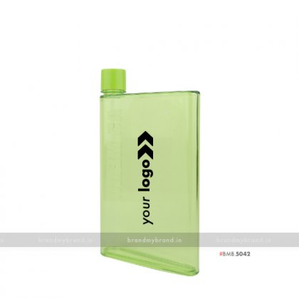 Personalized A5 Memo Bottle Green 420ml