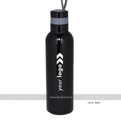 Personalized Black Steel Bottle 1000ml
