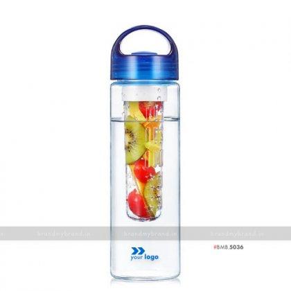 Personalized Blue Fruit Infuser Bottle