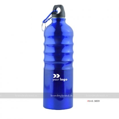 Personalized Blue Ring Sports Bottle 750ml