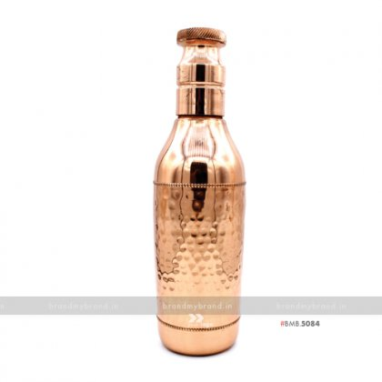 Personalized Champagne Copper Bottle