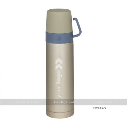 Personalized Golden Double Cup Flask 500ml