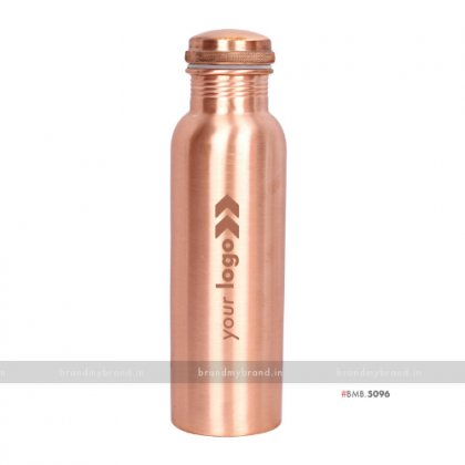 Personalized Good Health Copper Bottle