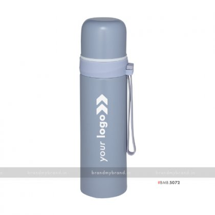Personalized New Gray Eco Flask 500ml