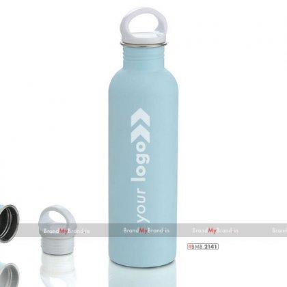 Personalized noble single wall steel bottle (900 ml)