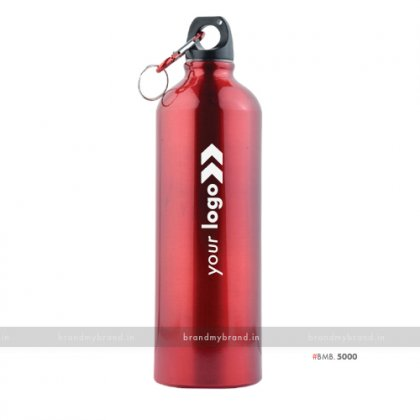 Personalized Red Gloss Sports Bottle 750ml