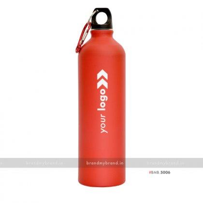 Personalized Red Matt Sports Bottle 750ml