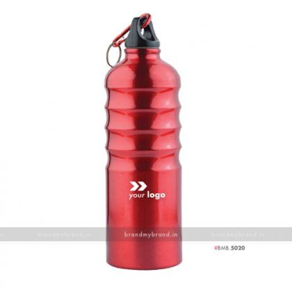 Personalized Red Ring Sports Bottle 750ml