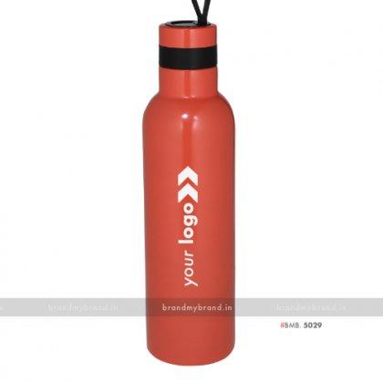 Personalized Red Steel Bottle 1000ml