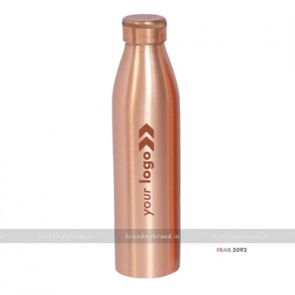 Personalized Regular Copper Bottle