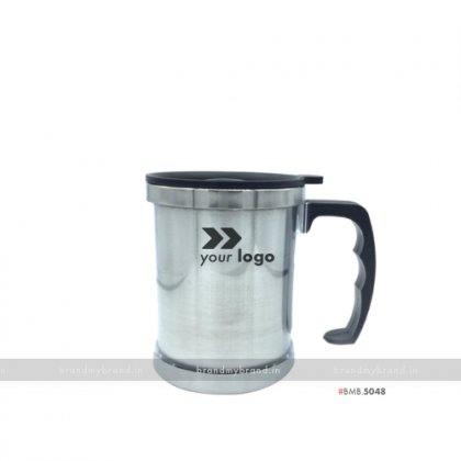 Personalized Regular Silver Mug