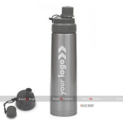 Personalized silver freedom-double wall flask (900 ml)