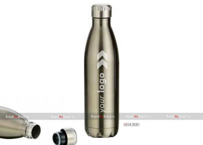Personalized silver oasis-double wall vacuum flask (750 ml)
